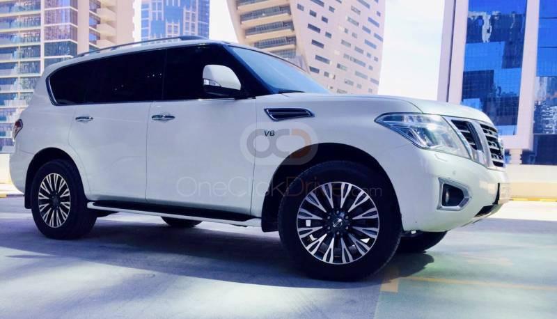 Rent Nissan Patrol in Dubai - SUV Car Rental