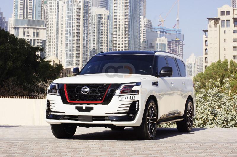 Rent Nissan Patrol Nismo in Dubai - SUV Car Rental