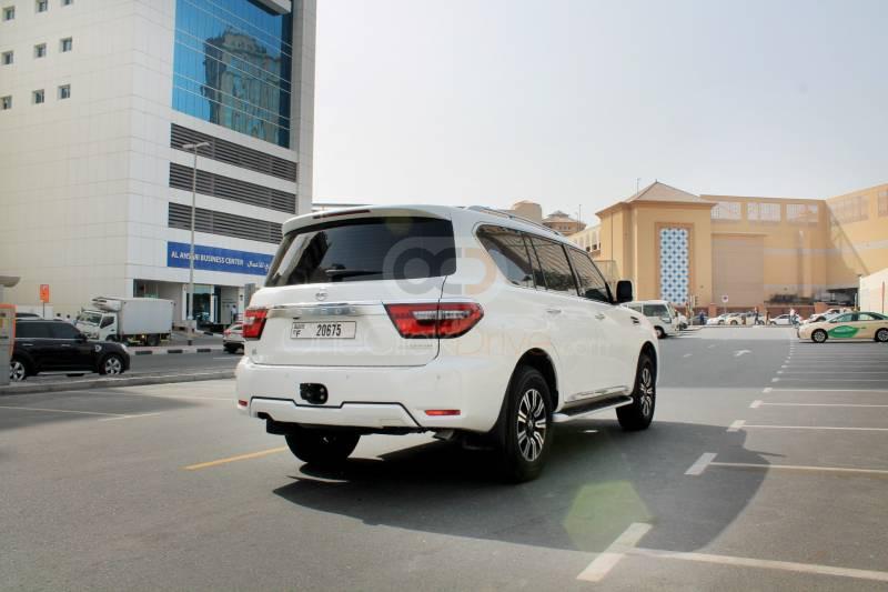 Book Nissan Patrol Platinum 2020 in Dubai