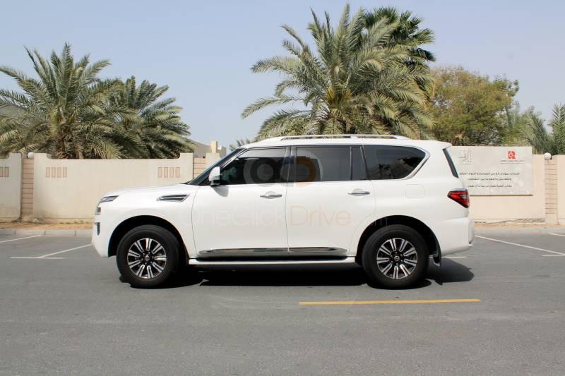 Hire Nissan Patrol Platinum - SUV Dubai
