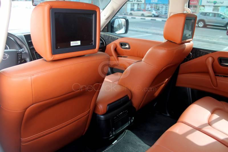 Rent 2020 Nissan Patrol Platinum in Dubai UAE
