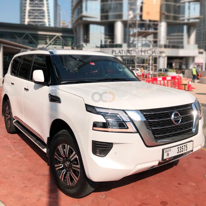 Rent Nissan Patrol Platinum in Dubai - SUV Car Rental