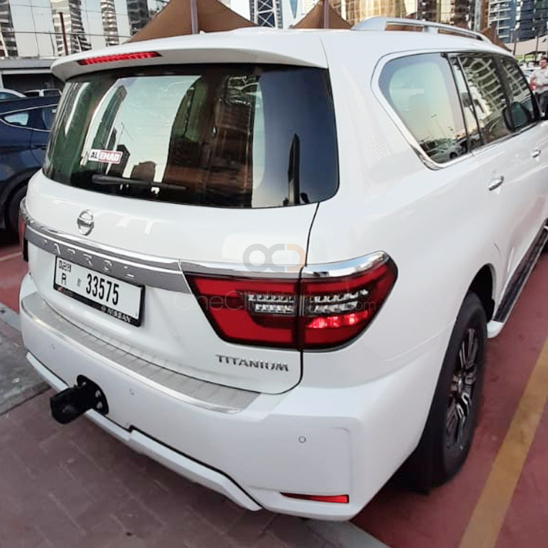 Book Nissan Patrol Platinum 2020 in Dubai