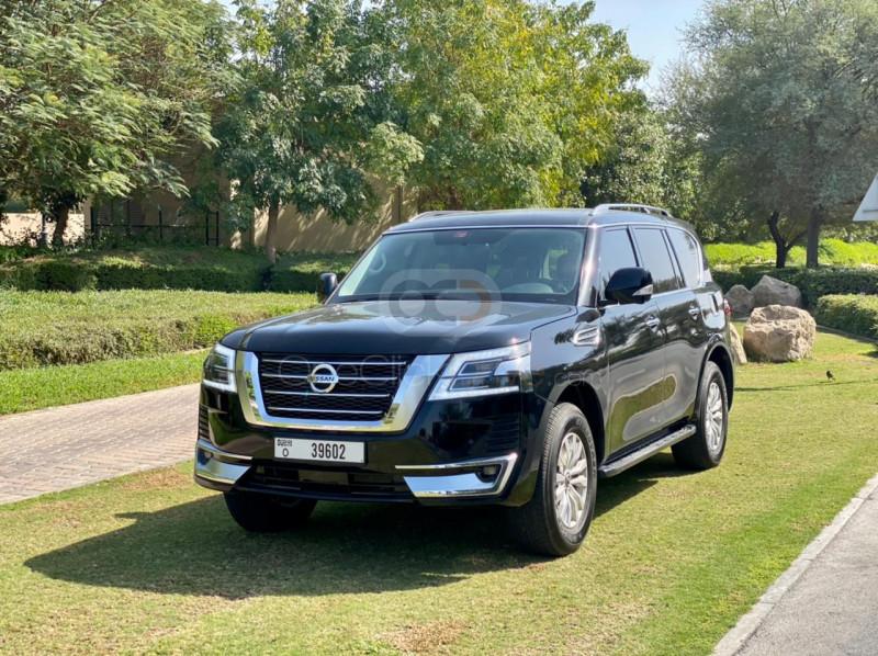 Rent Nissan Patrol Titanium in Dubai - SUV Car Rental