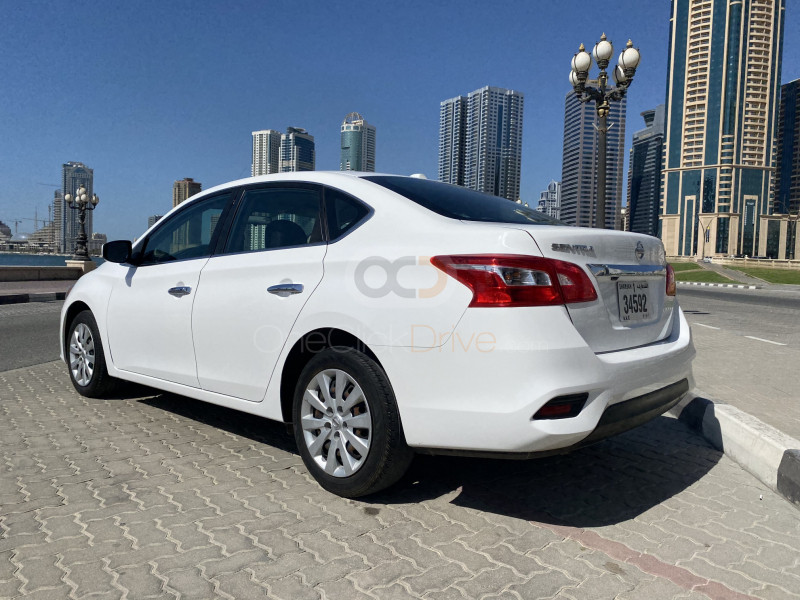 Rent 2017 Nissan Sentra in Sharjah UAE