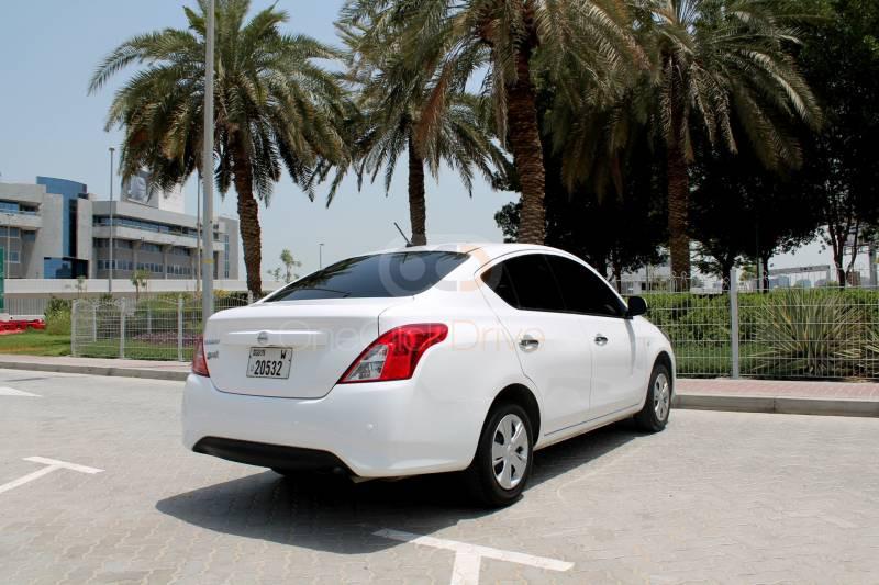 Rent 2019 Nissan Sunny in Dubai UAE