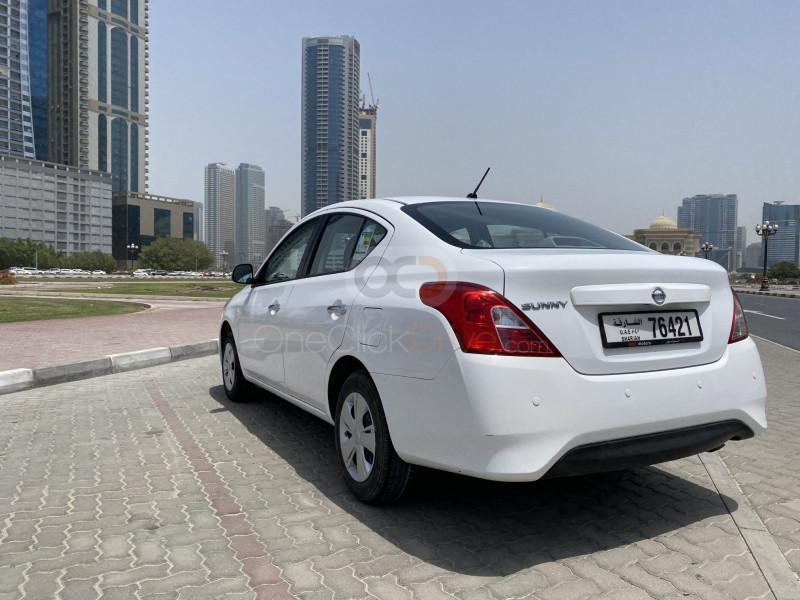 Book Nissan Sunny 2019 in Sharjah