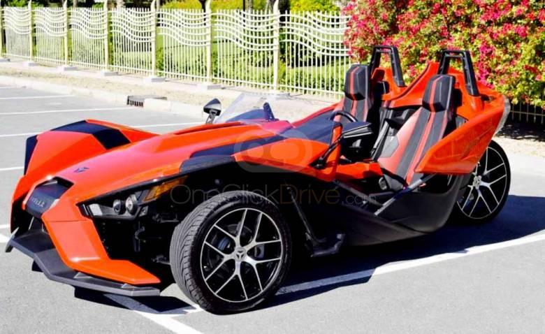 Rent Polaris Slingshot in Abu Dhabi - Sports Car Car Rental