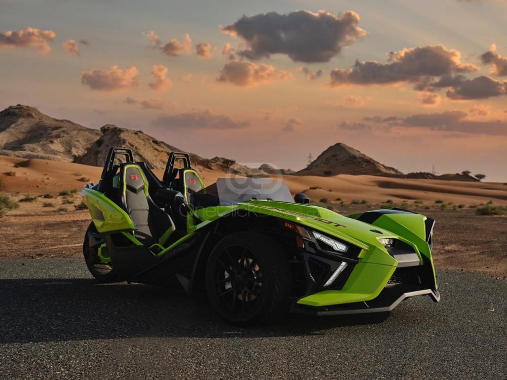 Rent Polaris Slingshot R Limited Edition in Dubai - Luxury Car Car Rental