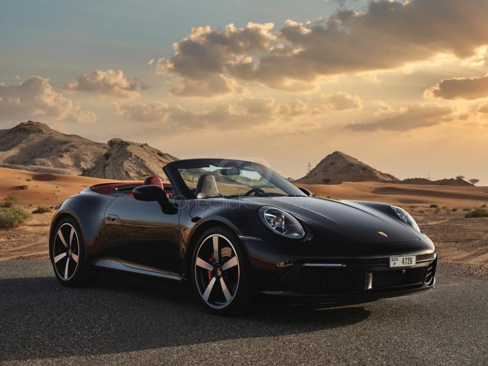 Rent Porsche 911 Carrera S Spyder in Dubai - Convertible Car Rental