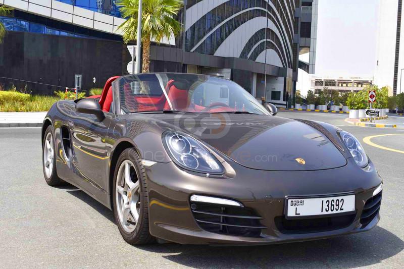 Rent Porsche Boxster in Dubai - Sports Car Car Rental
