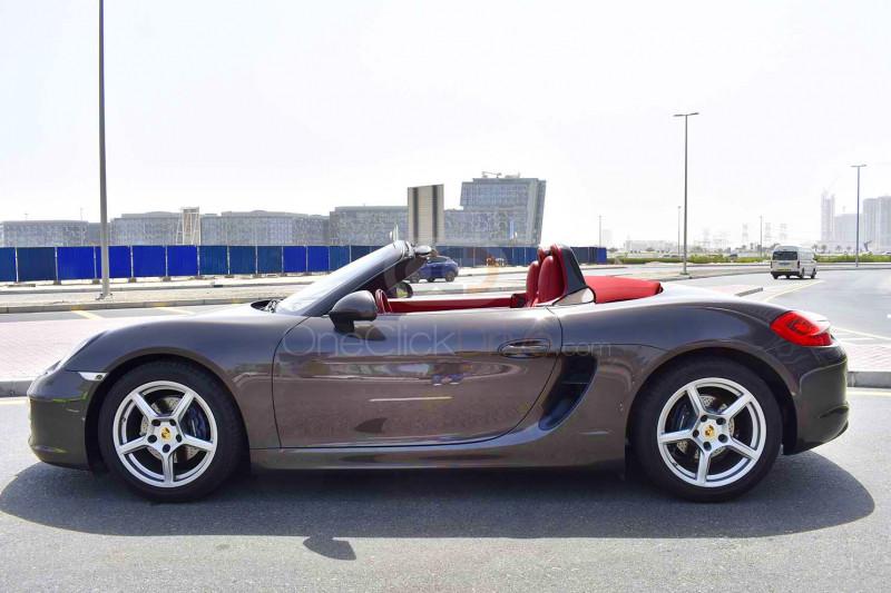 Book Porsche Boxster 2015 in Dubai