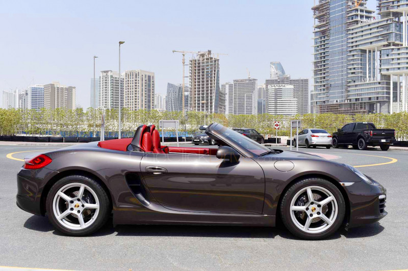 Hire Porsche Boxster - Sports Car Dubai