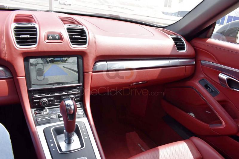 Rent 2015 Porsche Boxster in Dubai UAE