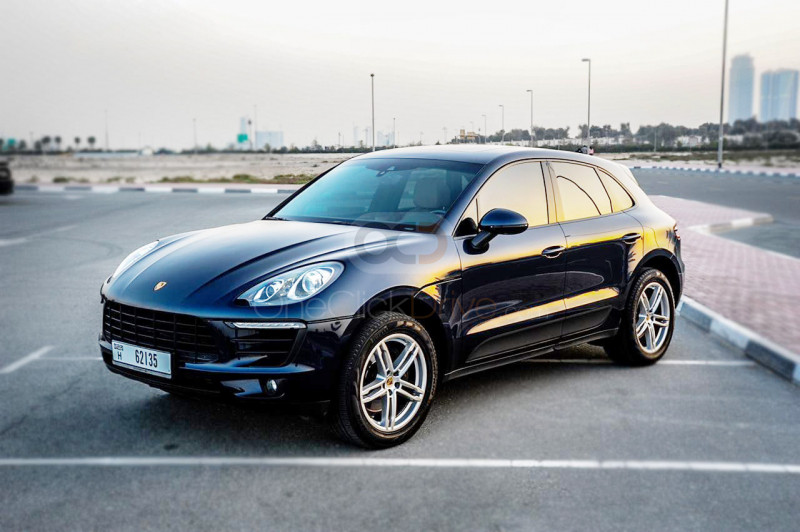 Rent Porsche Macan Turbo in Dubai - Sports Car Car Rental