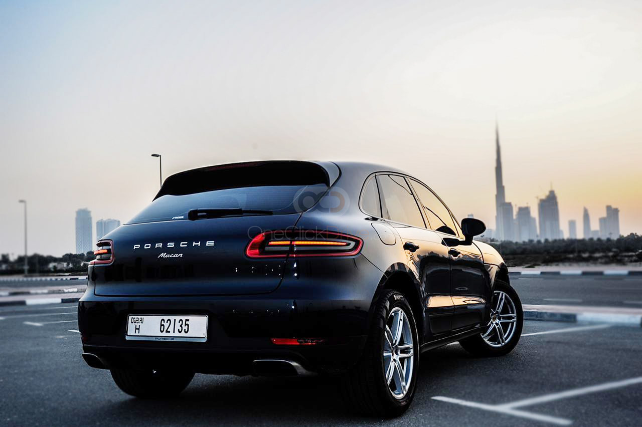 Rent 2018 Porsche Macan Turbo in Dubai UAE