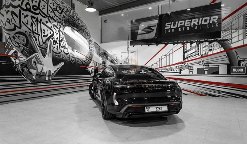 Porsche Taycan Turbo 2021 Rental - Dubai
