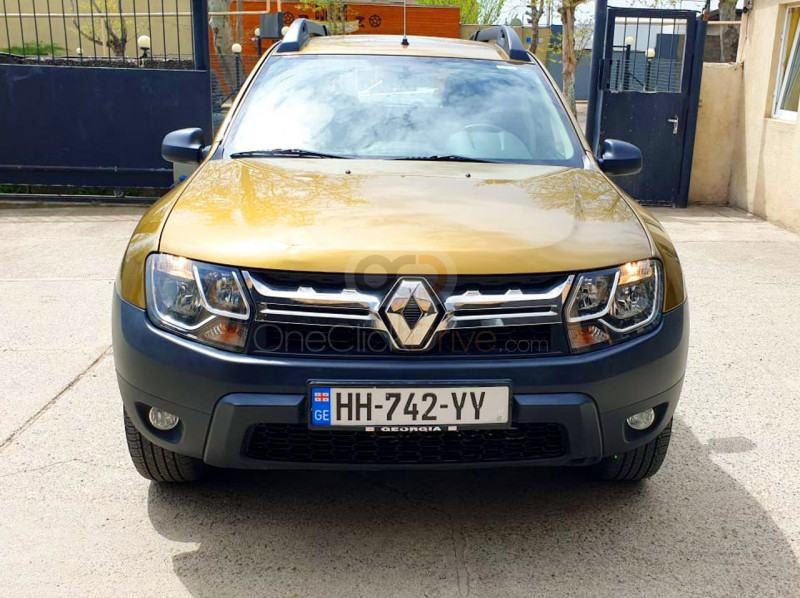 Rent Renault Duster 4x4 in Tbilisi - Crossover Car Rental