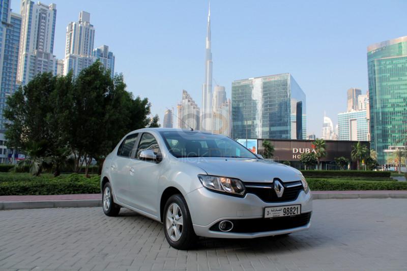 Rent Renault Symbol in Sharjah - Sedan Car Rental