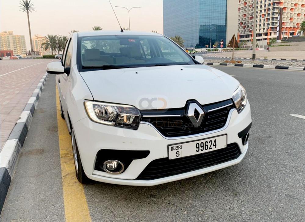 Rent Renault Symbol in Dubai - Sedan Car Rental