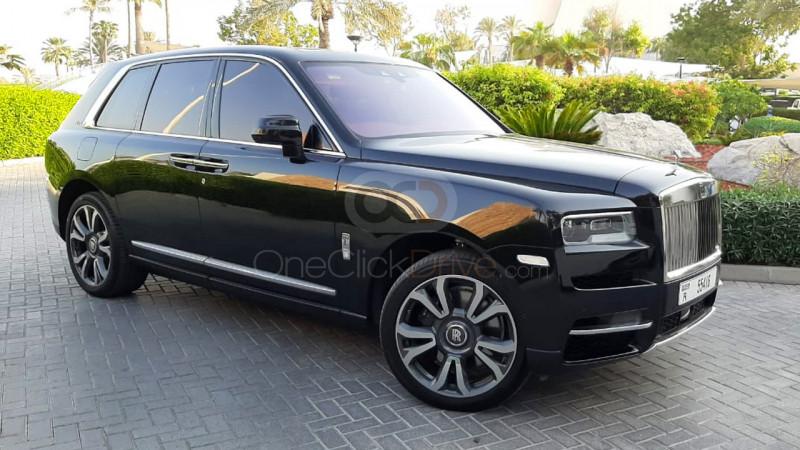 Rent 2019 Rolls Royce Cullinan in Dubai UAE