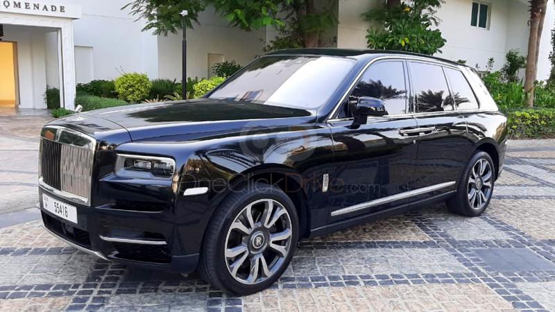 Rent Rolls Royce Cullinan in Dubai - SUV Car Rental