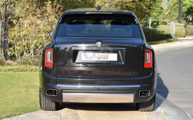 Rolls Royce Cullinan 2019 Rental - Dubai
