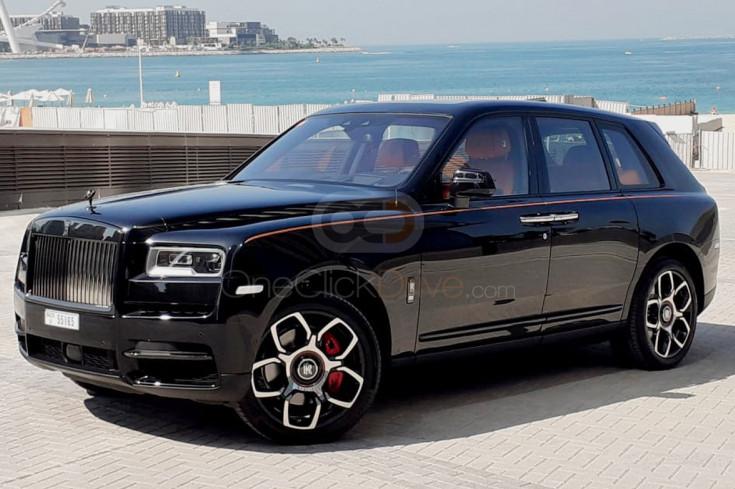 Rent Rolls Royce Cullinan Black Badge in Dubai - Luxury Car Car Rental