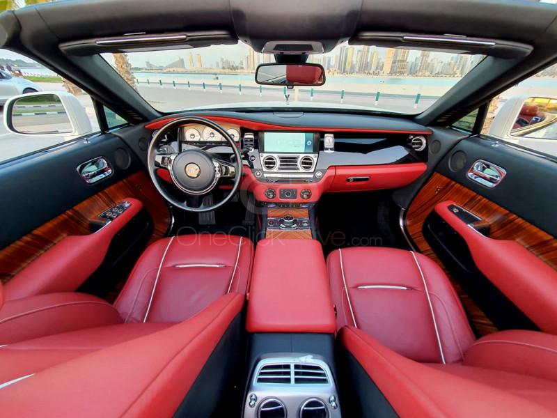 Rent 2017 Rolls Royce Dawn in Dubai UAE
