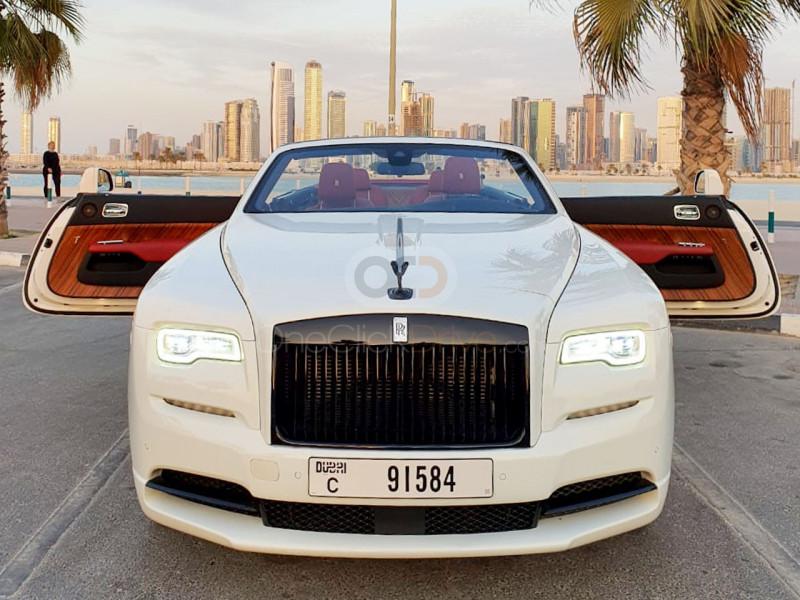 Book Rolls Royce Dawn 2017 in Dubai
