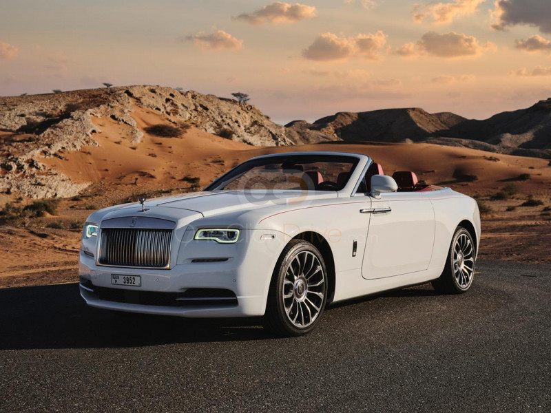 Book Rolls Royce Dawn 2019 in Dubai