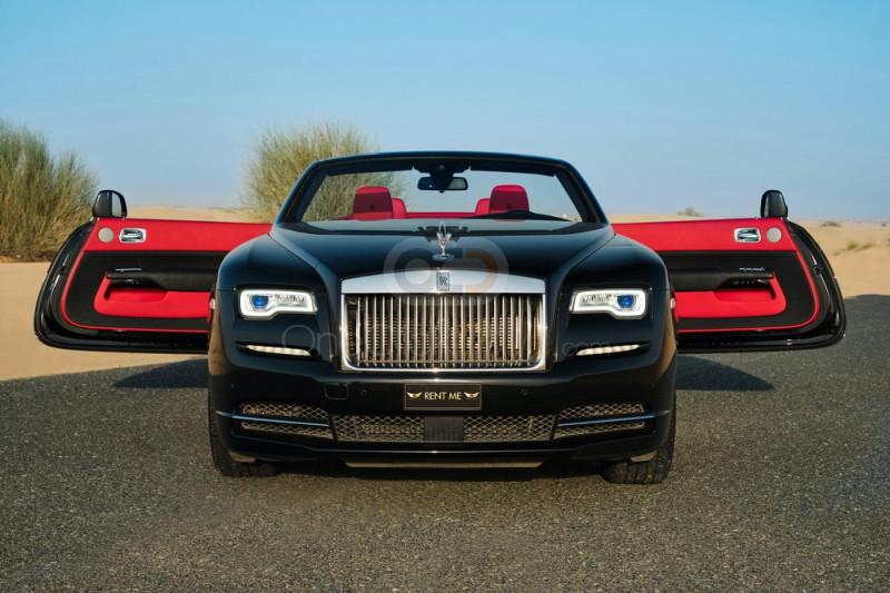 Rent Rolls Royce Dawn in Dubai - Convertible Car Rental