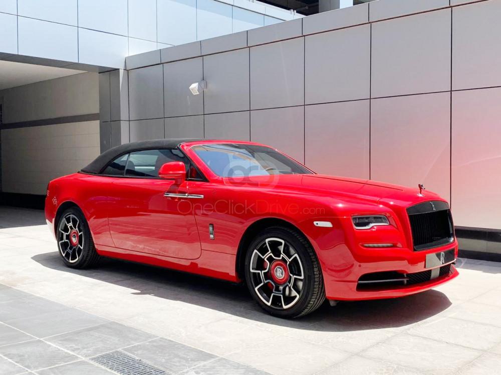 Rent Rolls Royce Dawn Black Badge Sportive Edition in Dubai - Convertible Car Rental