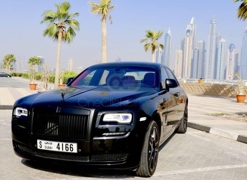 Rent Rolls Royce Ghost Series II in Abu Dhabi - Luxury Car Car Rental