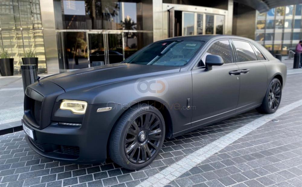 Rolls Royce Ghost Series 5 2019 Rental - Dubai