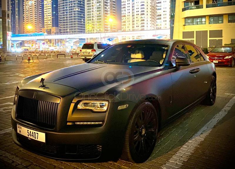 Rent Rolls Royce Ghost Series 5 in Dubai - Luxury Car Car Rental