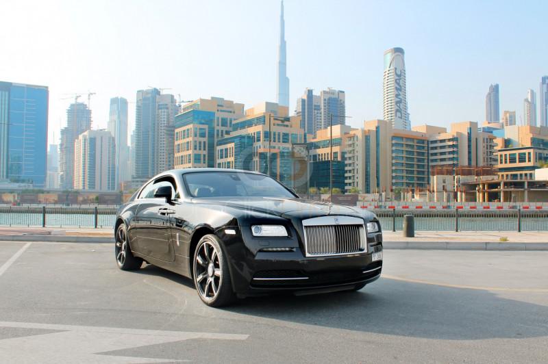 Rent Rolls Royce Wraith in Abu Dhabi - Luxury Car Car Rental