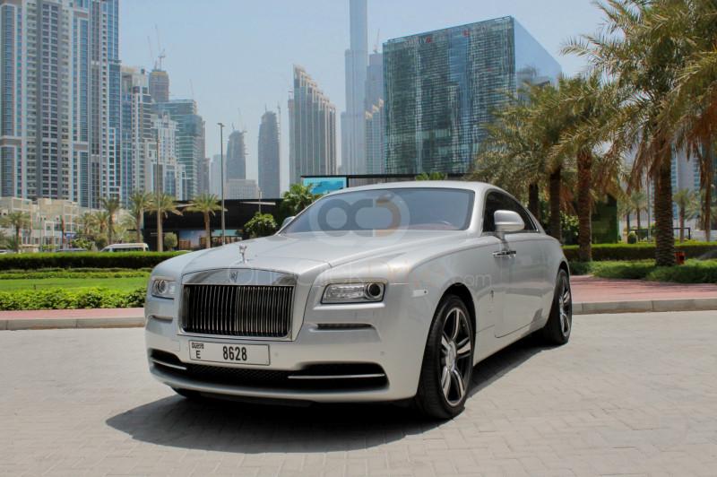 Rent Rolls Royce Wraith in Dubai - Luxury Car Car Rental