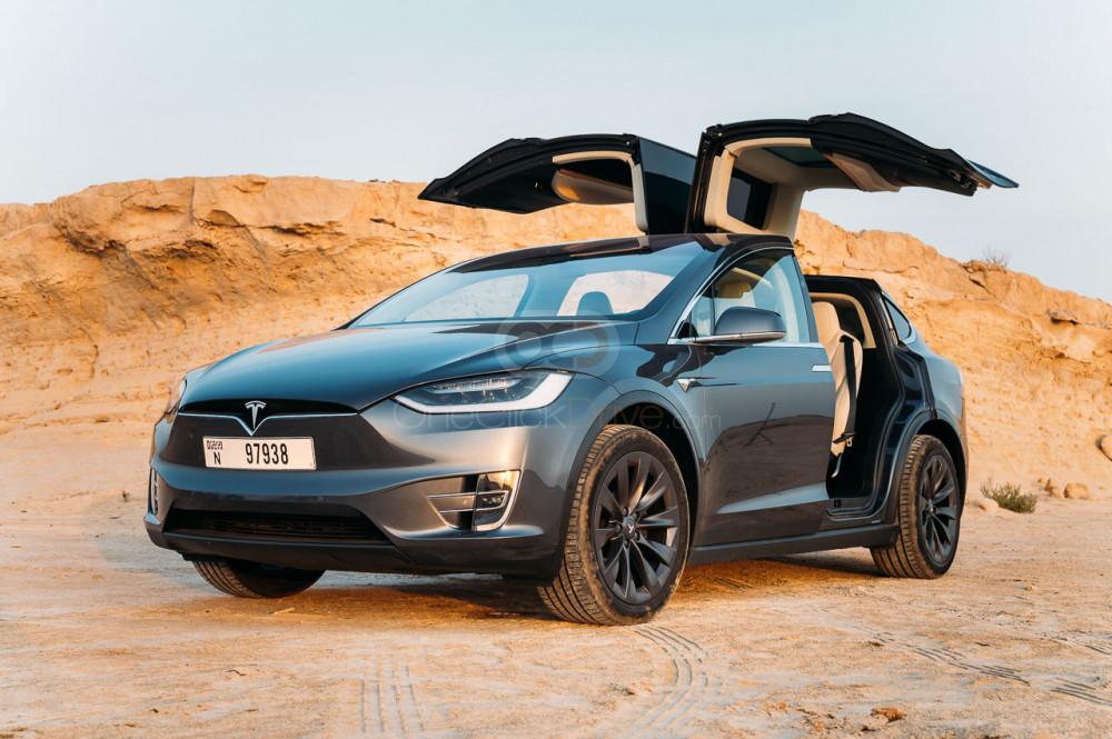 Rent Tesla Model X in Dubai - Electric Car Rental