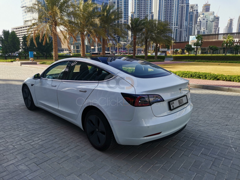 Tesla Model 3 2020 Rental - Dubai