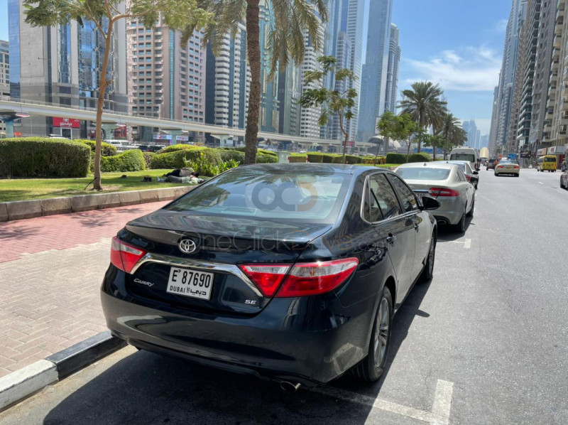 Book Toyota Camry 2017 in Dubai