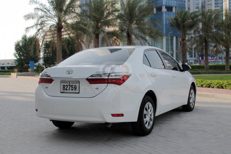 Toyota Corolla 2018 Rental - Dubai