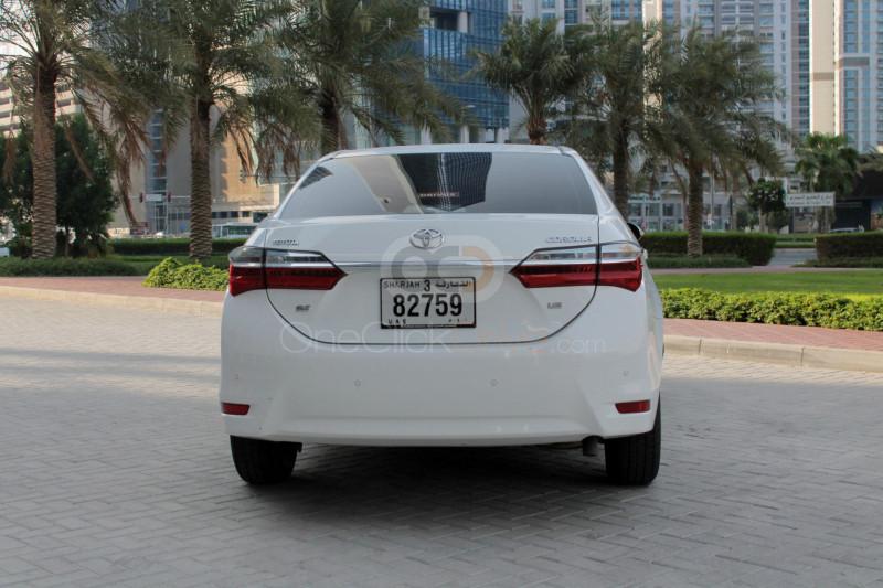 Rent 2018 Toyota Corolla in Sharjah UAE