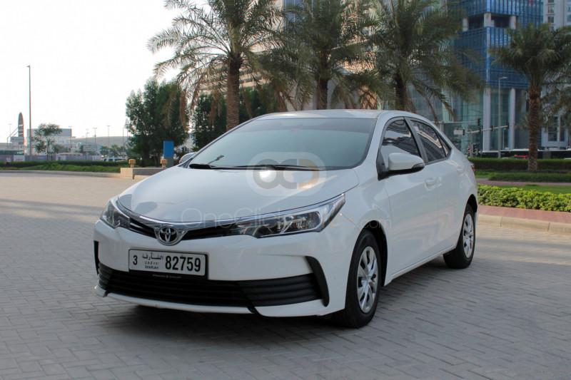 Rent Toyota Corolla in Ajman - Sedan Car Rental