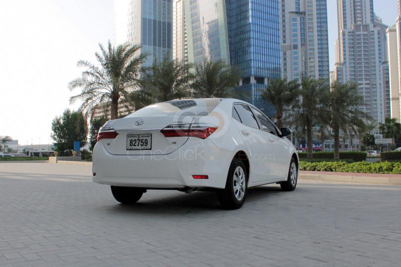 Rent 2018 Toyota Corolla in Ajman UAE