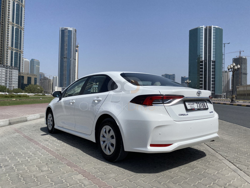 Toyota Corolla 2020 Rental - Sharjah