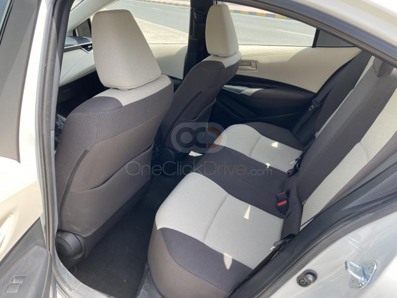 Rent 2020 Toyota Corolla in Sharjah UAE
