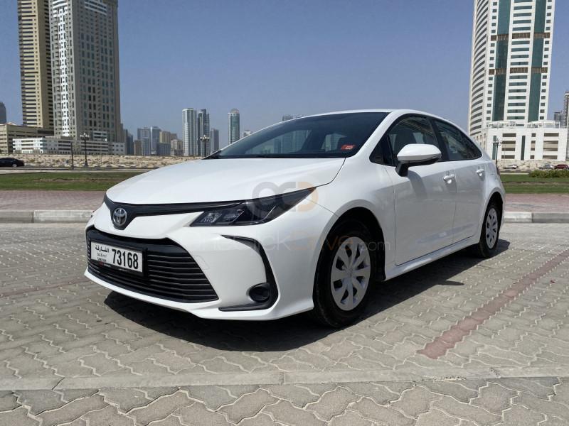 Book Toyota Corolla 2020 in Sharjah