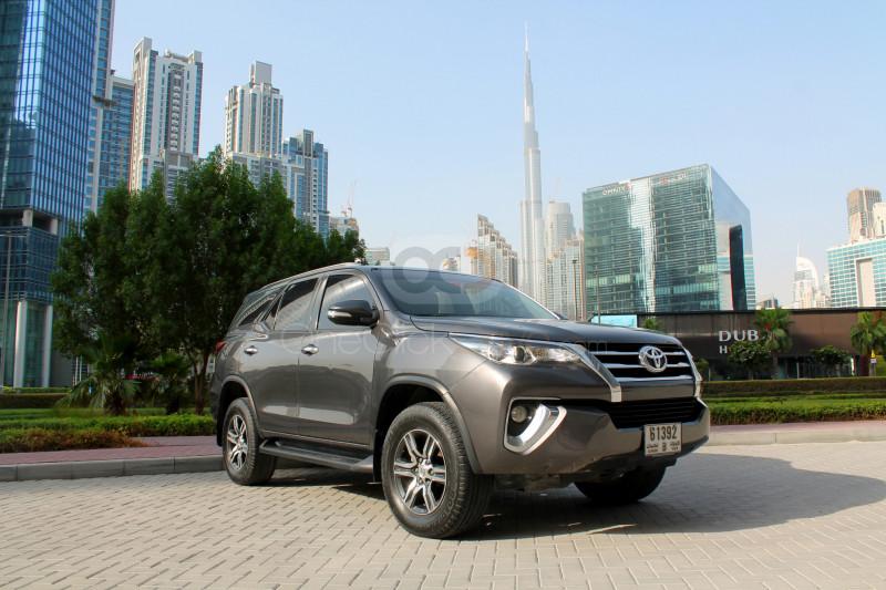 Rent Toyota Fortuner in Dubai - SUV Car Rental