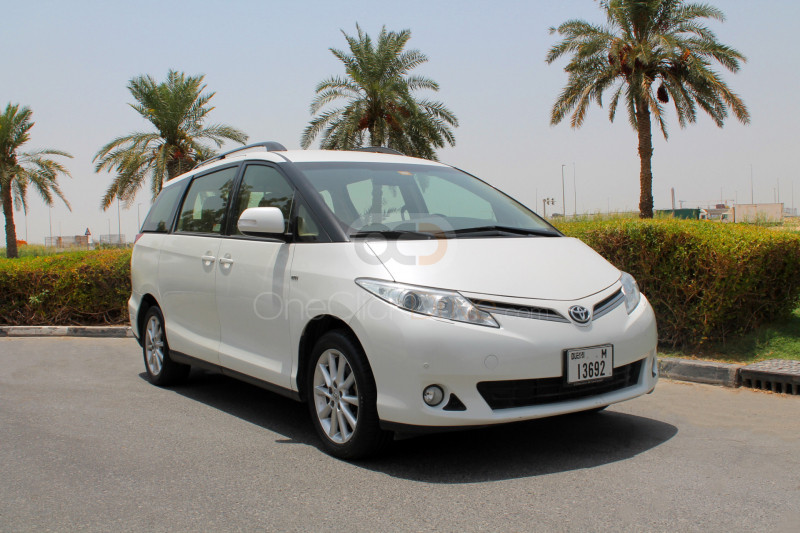 Rent Toyota Previa in Dubai - Van Car Rental